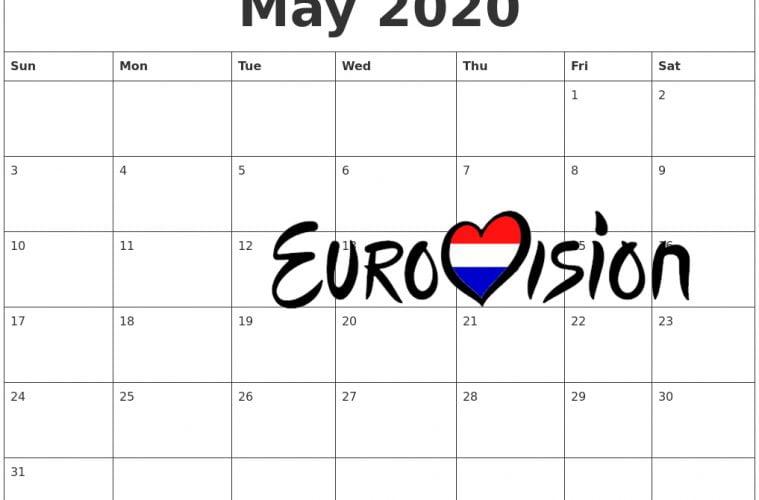 Datum songfestival 2020