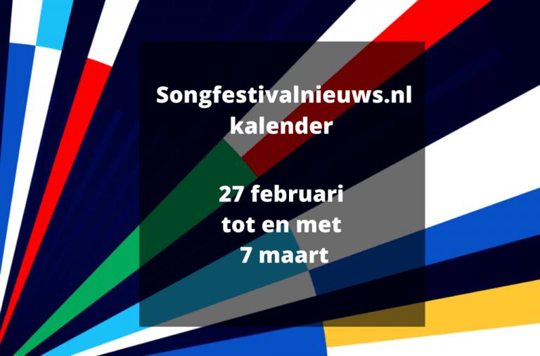 Alle liedjes Big 5 + Nederland Songfestival 2020 (5)