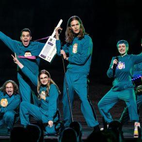 Daði og Gagnamagnið IJsland Think About Thinks Viral 2021 2020 Songfestival podium