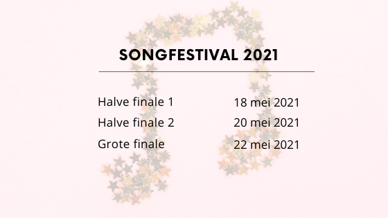Songfestival 2021 data